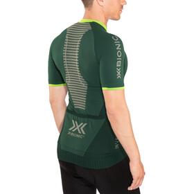 X-Bionic Invent 4.0 Bike Race Zip Jersey SH SL Men, pine green/amazonas green